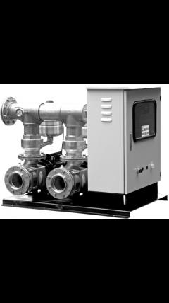 ATS s frekvenčními měniči - dvě čerpadla