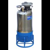 Ponorná čerpadla s chlazeným pláštěm a vířičem pro vodu s abrazivními částicemi
