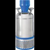 Ponorná čerpadla s chlazeným pláštěm pro vodu s abrazivními částicemi