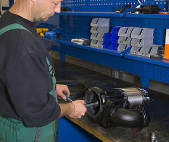 Montáž ponorného čerpadla