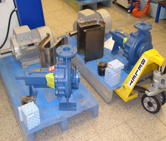 Příprava na montáž čerpadla