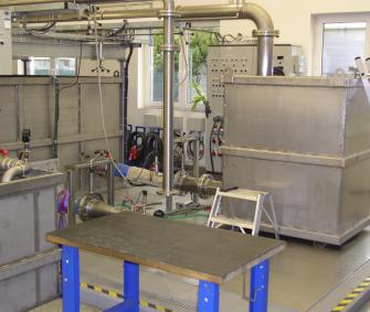 Zkoušení kalového ponorného čerpadla